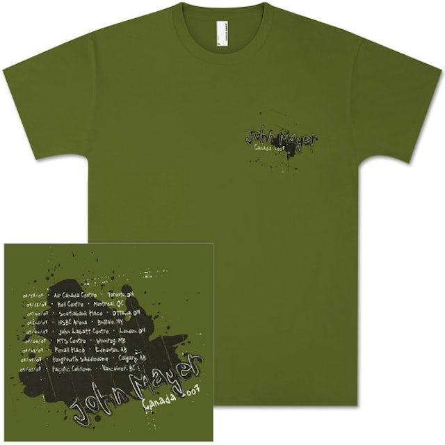 John Mayer - Canada 2007 Tour Shirt