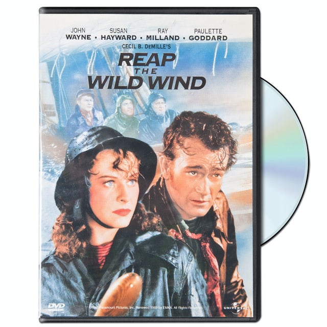 "John Wayne ""Reap the Wild Wind"" DVD (1942)"