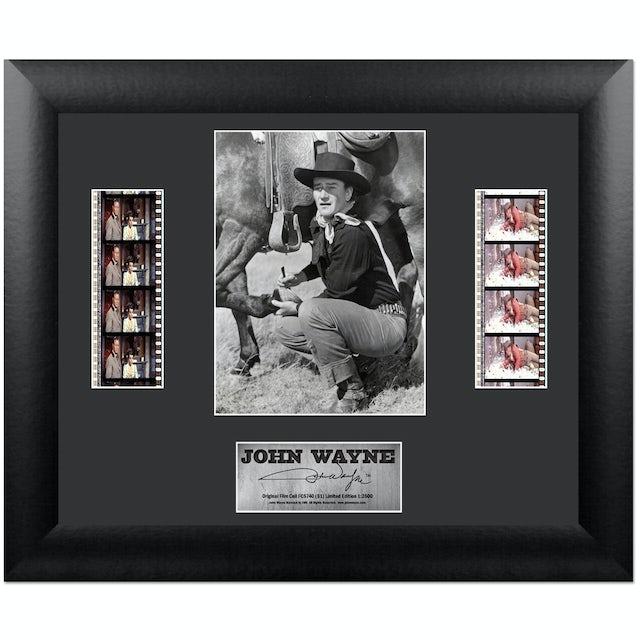 John Wayne S1 Collectible Double Framed FilmCell