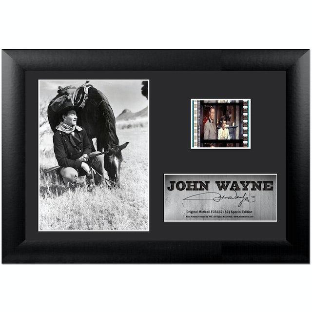 John Wayne S1 Collectible Framed FilmCell