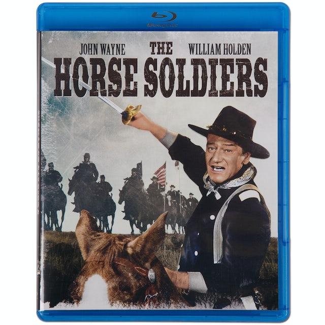 John Wayne Horse Soldiers (Blu-Ray) DVD