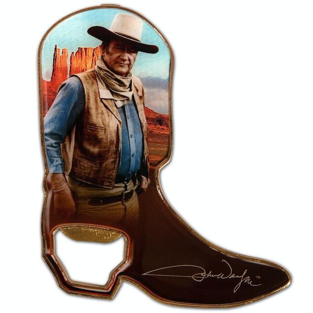 John Wayne Cowboy Boot Magnet/Bottle Opener