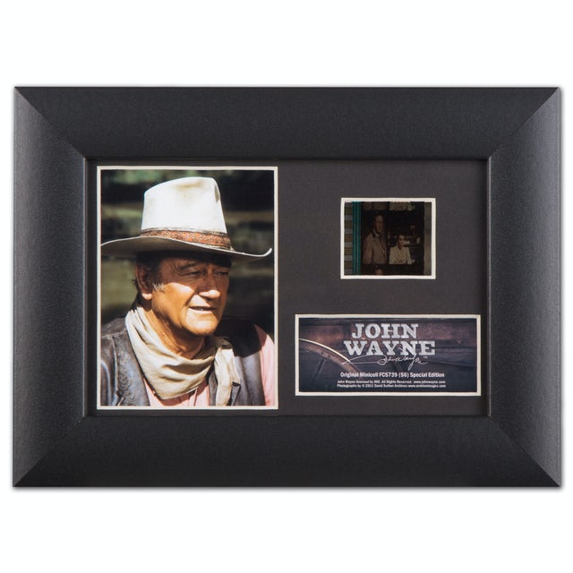 John Wayne Film Cell Framed Collectable Picture