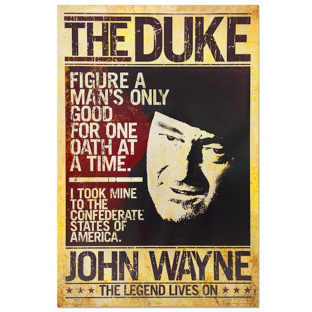 """John Wayne """"The Searchers"""" Poster"""