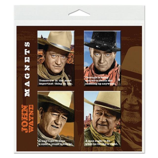 John Wayne Magnet Set (Set of 4)