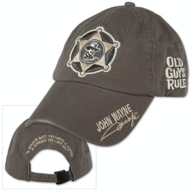 """John Wayne Old Guys Rule """"Creed"""" Cap"""