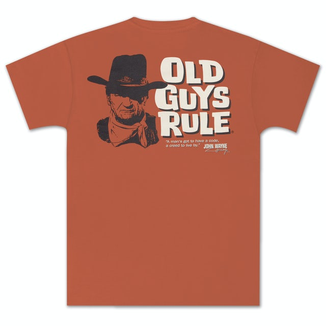 "John Wayne Old Guys Rule ""Code"" Unisex T-shirt"