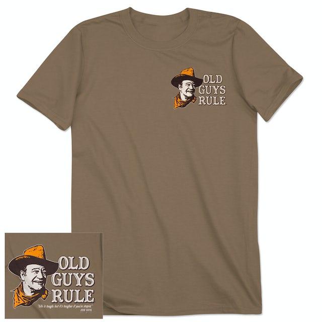 """John Wayne """"Life is Tough"""" T-shirt"""