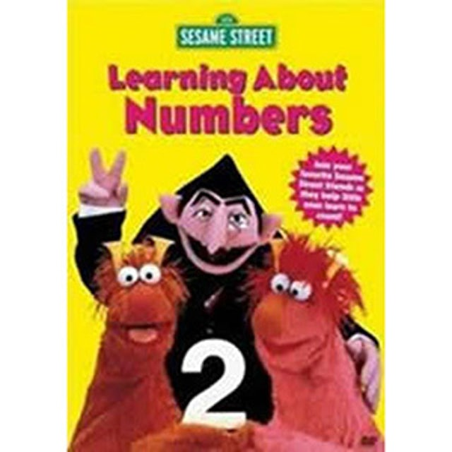Sesame Street Learning About Numbers DVD