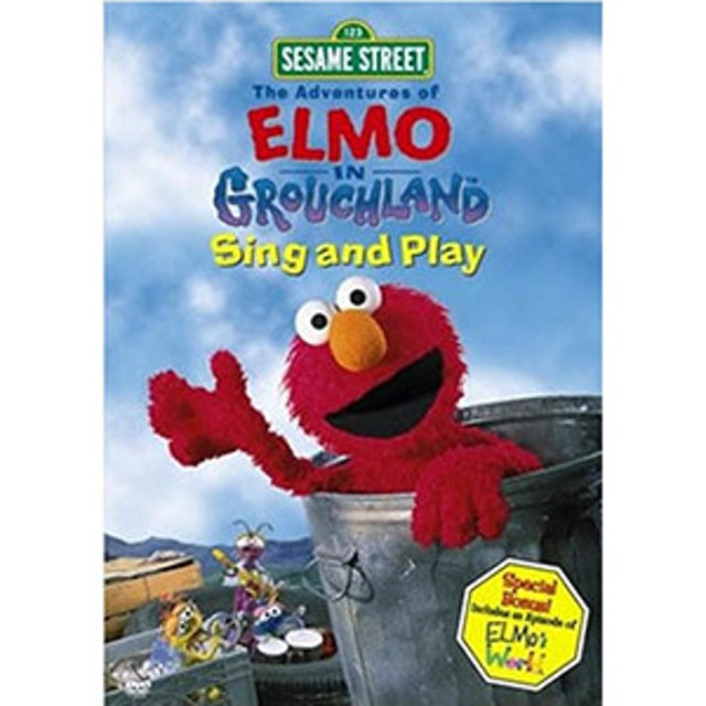 Sesame Street Elmo In Grouchland Sing And Play DVD