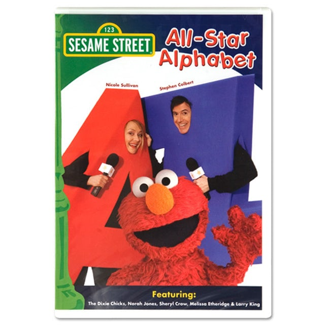 Sesame Street All-Star Alphabet DVD