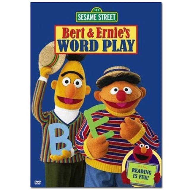 Sesame Street Bert & Ernie's Word Play DVD