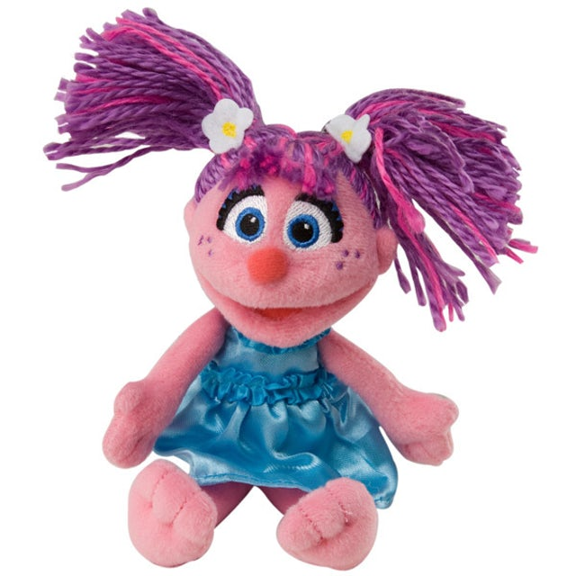Sesame Street Abby Cadabby Beanbag Plush