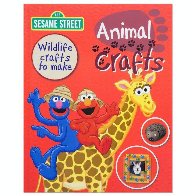 Sesame Street Animal Crafts Book