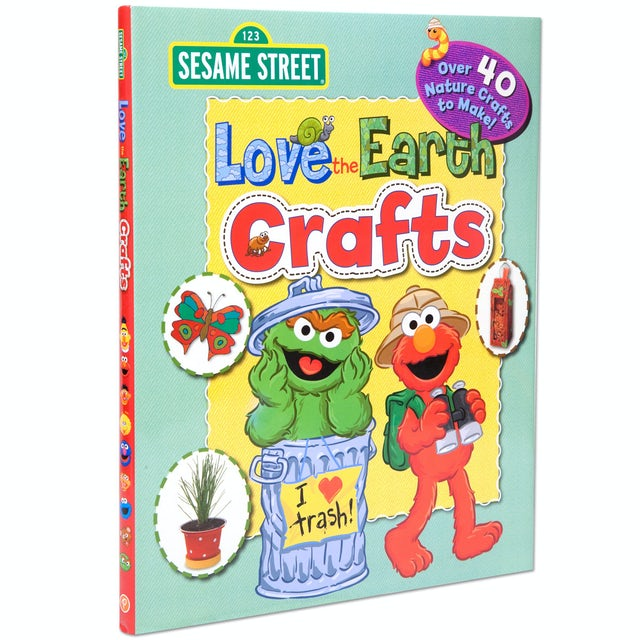 Sesame Street Love The Earth Crafts Book