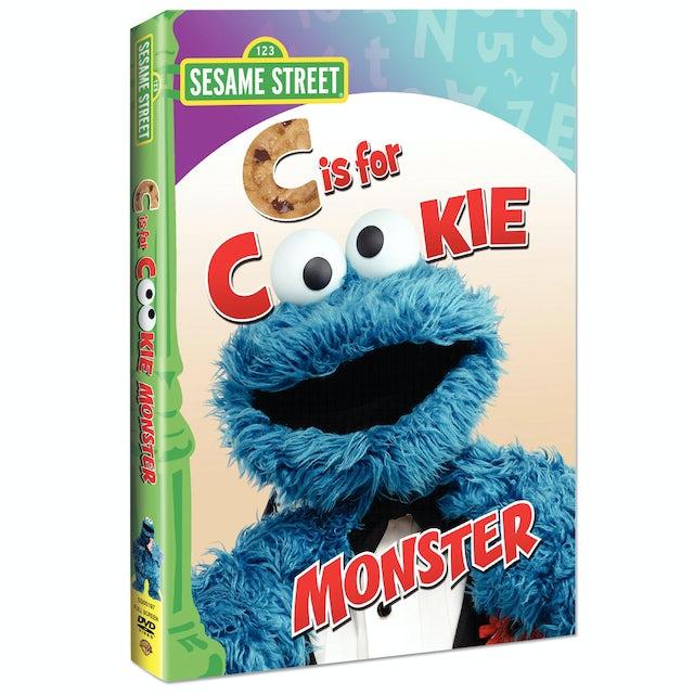 Sesame Street C Is For Cookie Monster DVD