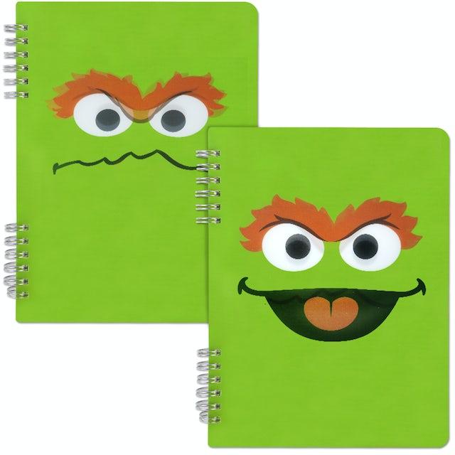 Sesame Street Oscar the Grouch Spiral Notebook