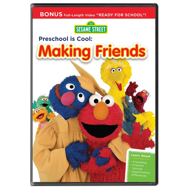 Sesame Street: Preschool Is Cool: Making Friends DVD