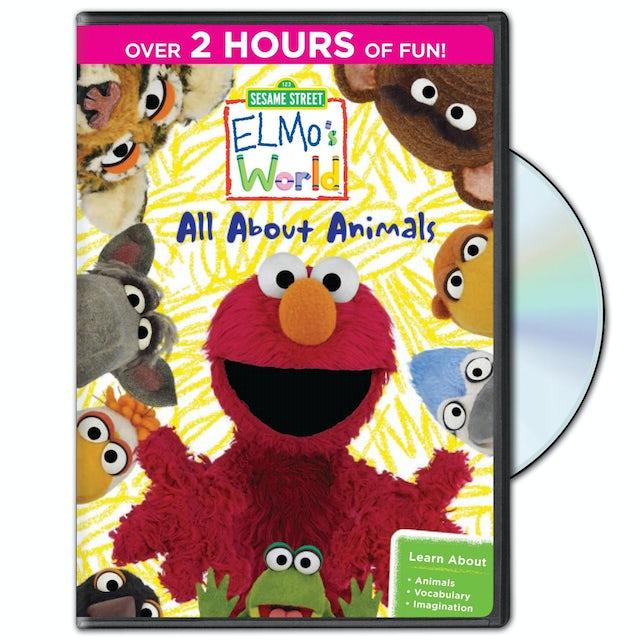Sesame Street: Elmo's World: All About Animals DVD