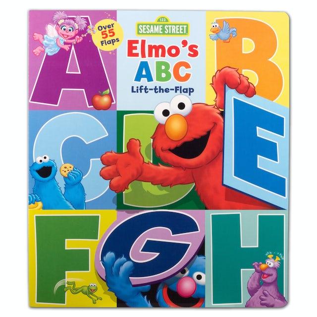 Sesame Street Elmo's ABC Lift-the-Flap Book