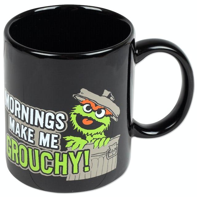 Sesame Street - Oscar Mornings Make Me Grouchy Ceramic Mug
