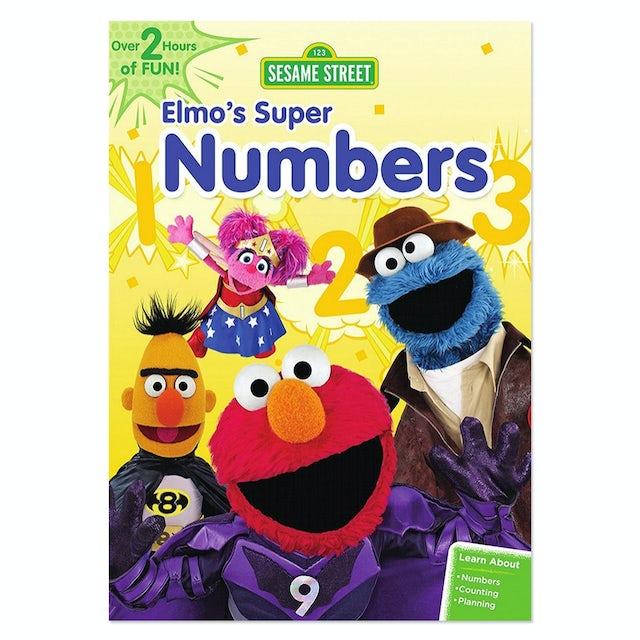 Sesame Street: Elmo's Super Numbers DVD