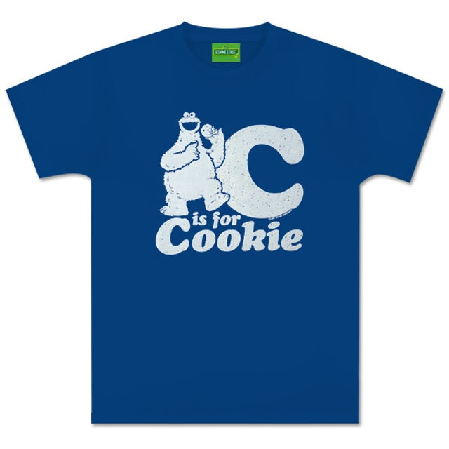 Sesame Street C Is For Cookie T-Shirt