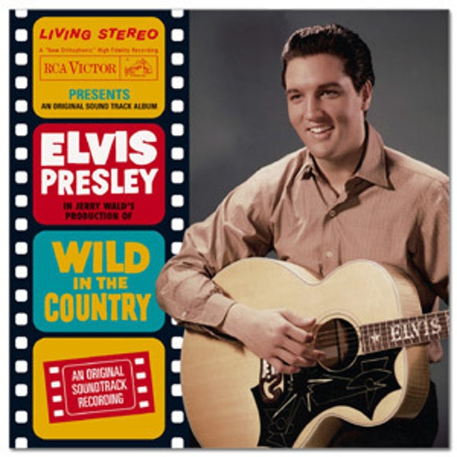 Elvis Presley Wild in the Country FTD CD
