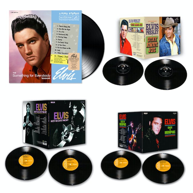 Elvis Presley 2014 Bundle of 4 FTD LP Releases (Vinyl)
