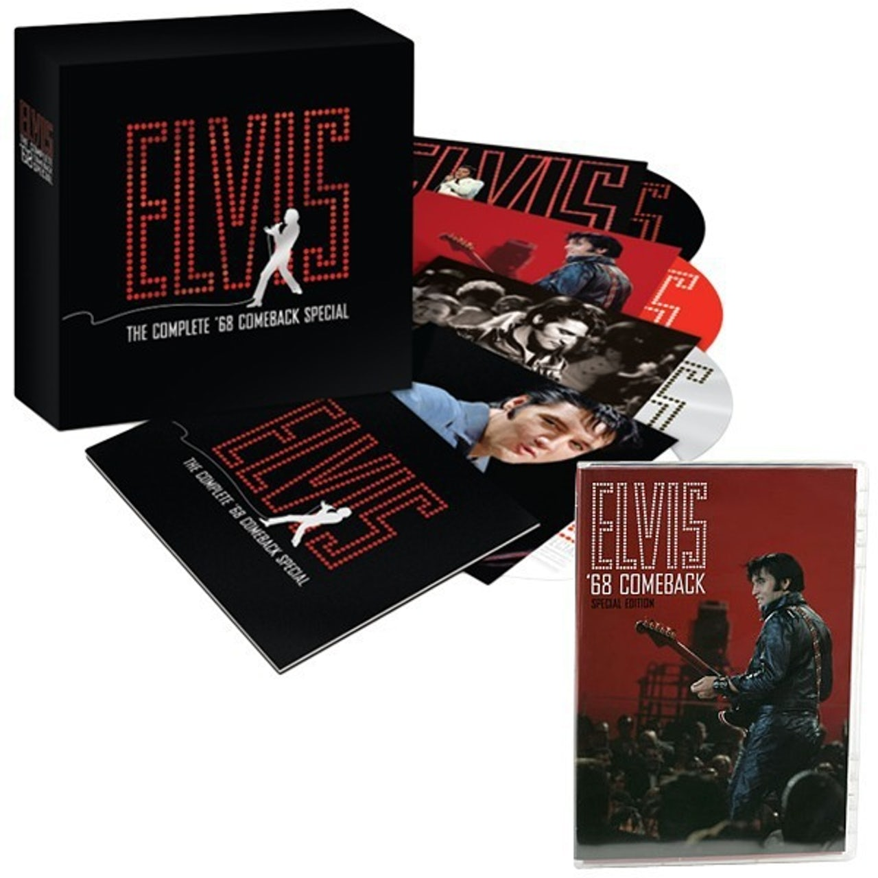 Elvis Presley 68 Comeback Special 40th Anniversary CD Set And DVD Combo Touch To Zoom