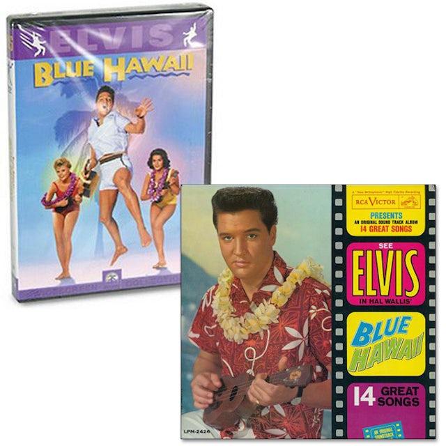 Elvis Presley Blue Hawaii FTD CD and DVD Combo