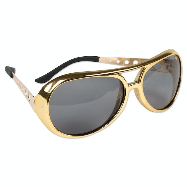 Elvis Presley 1970s Gold Sunglasses