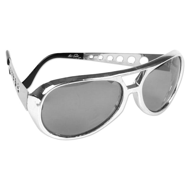 Elvis Presley 1970s Silver Sunglasses