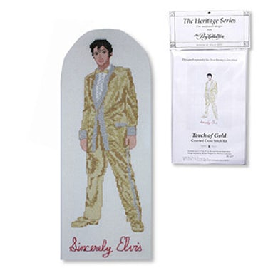 Elvis Presley Touch of Gold Counted Cross Stitch Kit