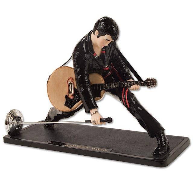 Elvis Presley King of Rock 'n Roll Porcelain Figure