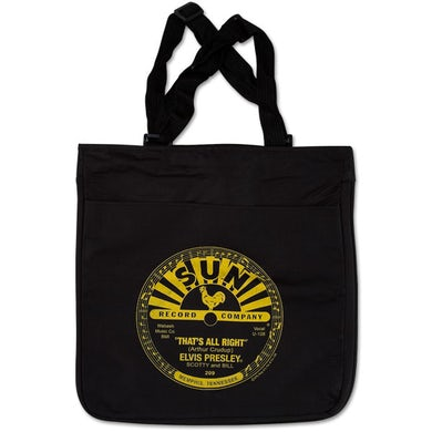 Elvis Presley - That's All Right Black Tote Bag