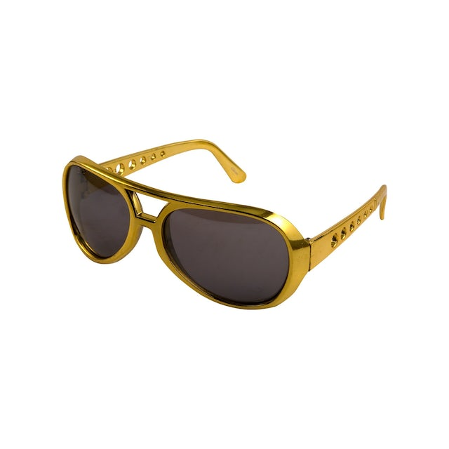 Elvis Presley 1970s Youth Gold Sunglasses