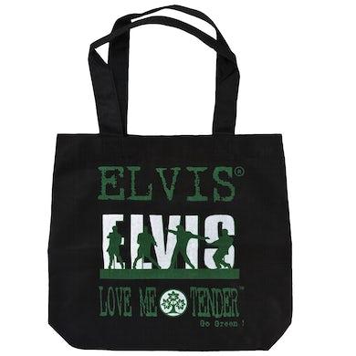 Elvis Presley Love Me Tender Black Market Tote Bag