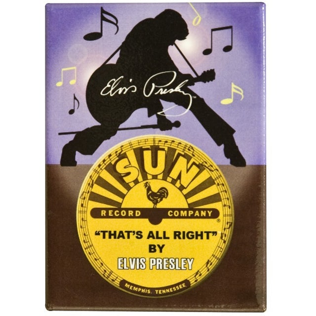 Elvis Presley Thats All Right Magnet
