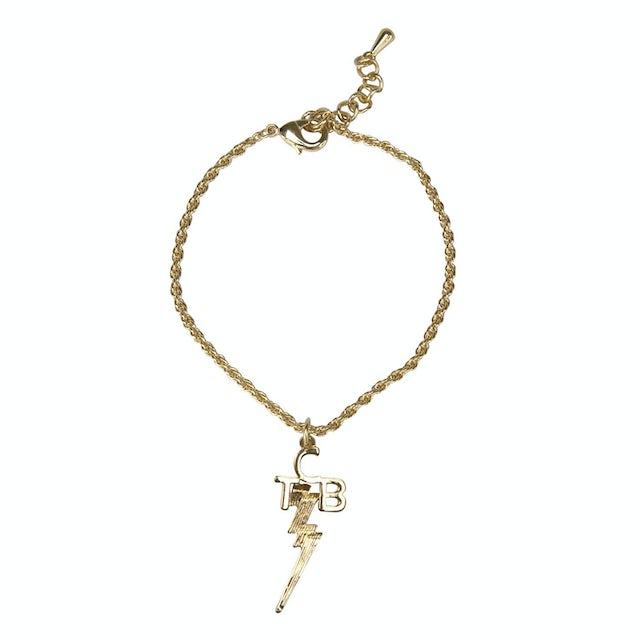 Elvis Presley 18 kt Gold Plated TCB Bracelet