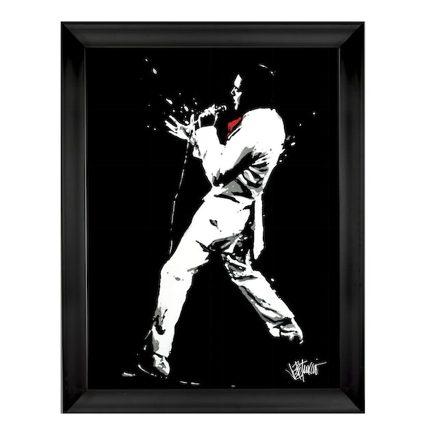 Elvis Presley If I Can Dream Signed Gicleé Print