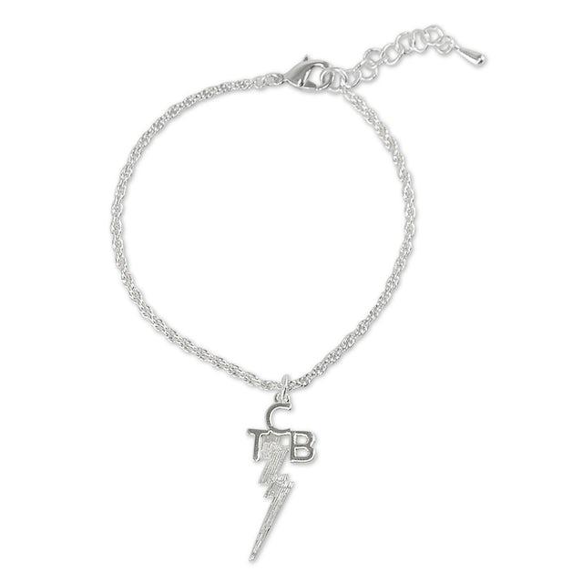 Elvis Presley TCB Silver Plated Bracelet
