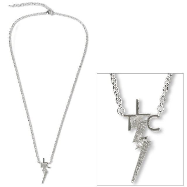 Elvis Presley TLC Silver Plated Necklace