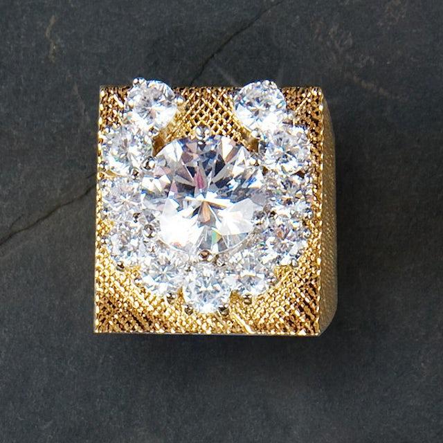 Elvis Presley 18kt Gold Plated Aloha Horseshoe Ring