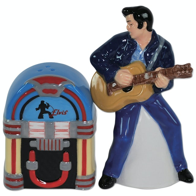 Elvis Presley Loving You Salt & Peppers Shakers