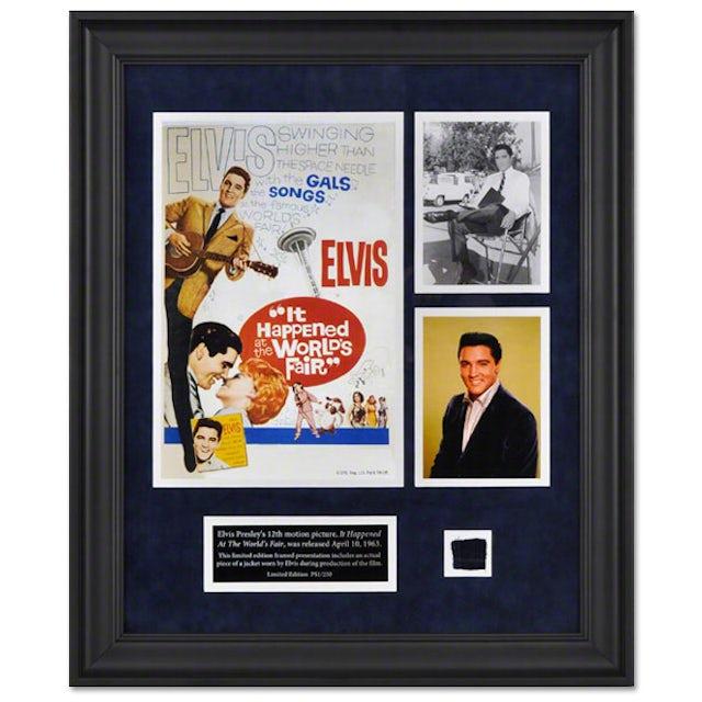 "Elvis Presley ""It Happened At The World's Fair"" Framed Presentation"