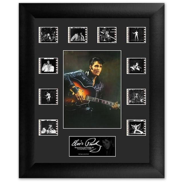 Elvis Presley 68 Special Mini Montage Filmstrip Framed Presentation