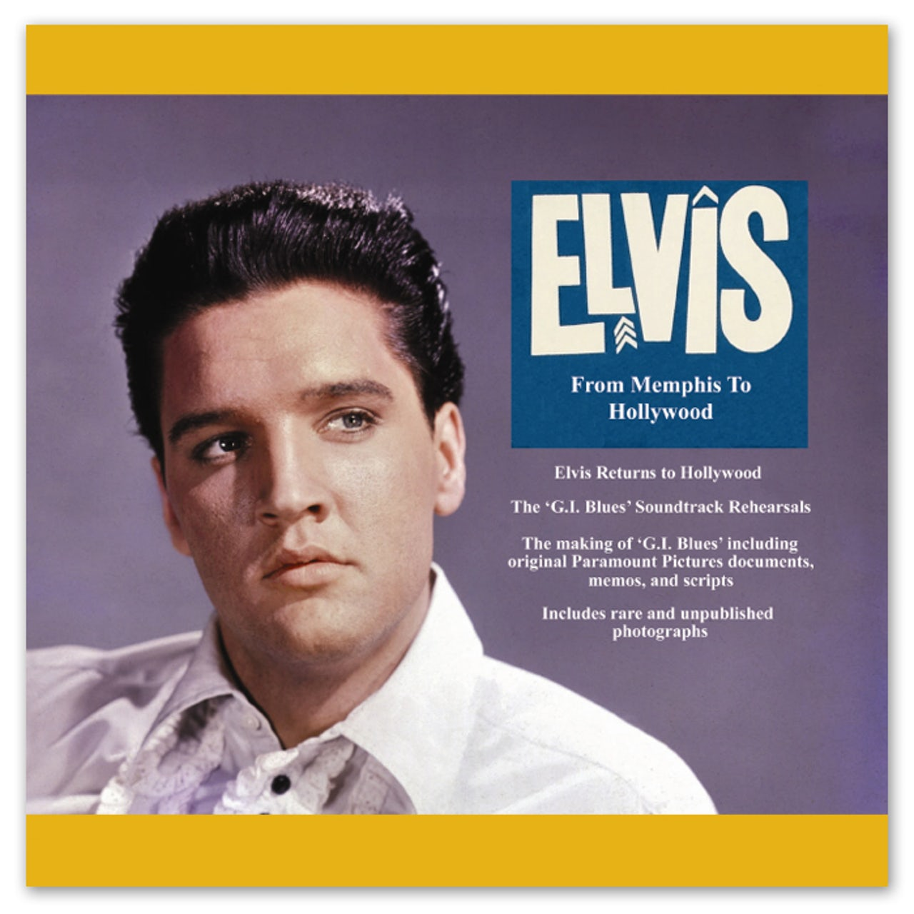 Elvis Presley From Memphis to Hollywood FTD Book and CD