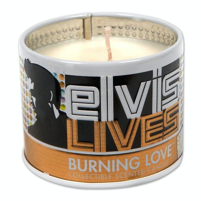 Elvis Presley Burning Love Scented 4oz Candle