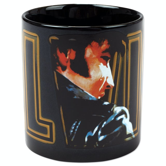 Elvis Presley Lights Ceramic Mug